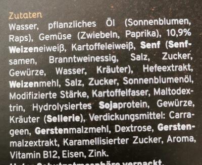 Bällchen Spieße mit BBQ Marinade - Zutaten - de
