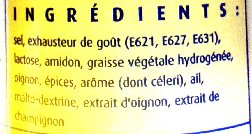 - Ingrediënten
