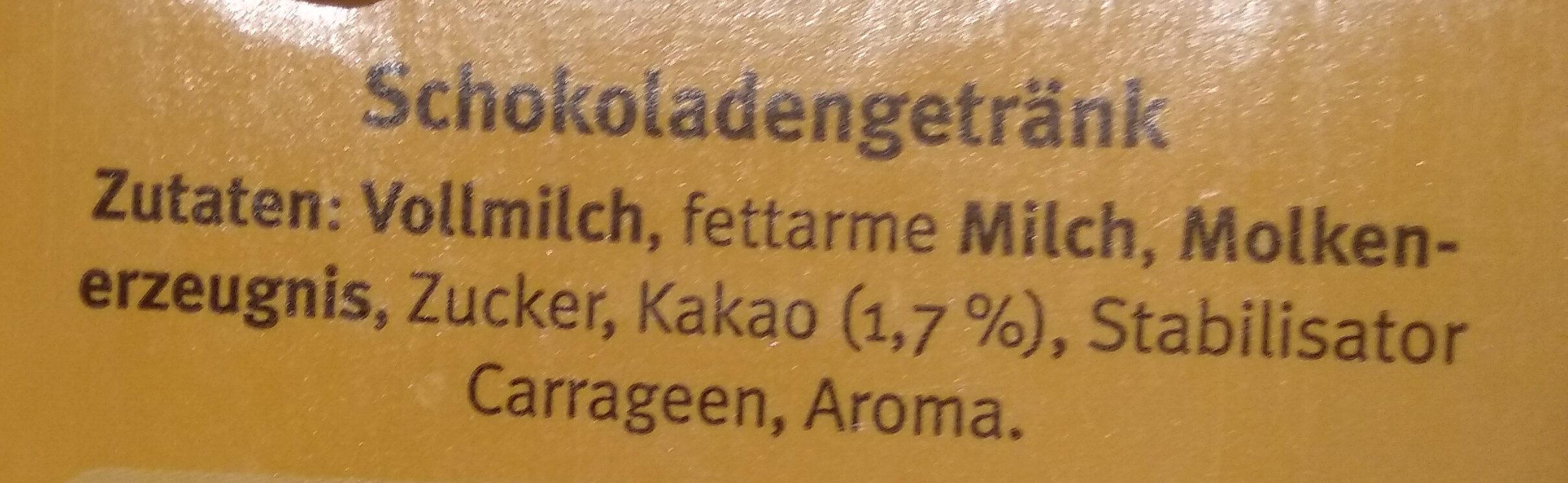 Chocomel - Zutaten - de