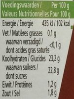Heinz Tomato Ketchup - Informations nutritionnelles - fr