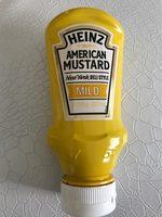 HEINZ Senf American Mustard Mild, 220 ML - Prodotto - fr