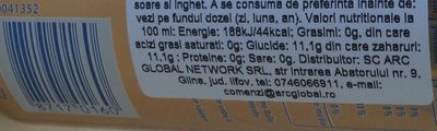Pepsi S / Cafeina LL.375 - Nutrition facts