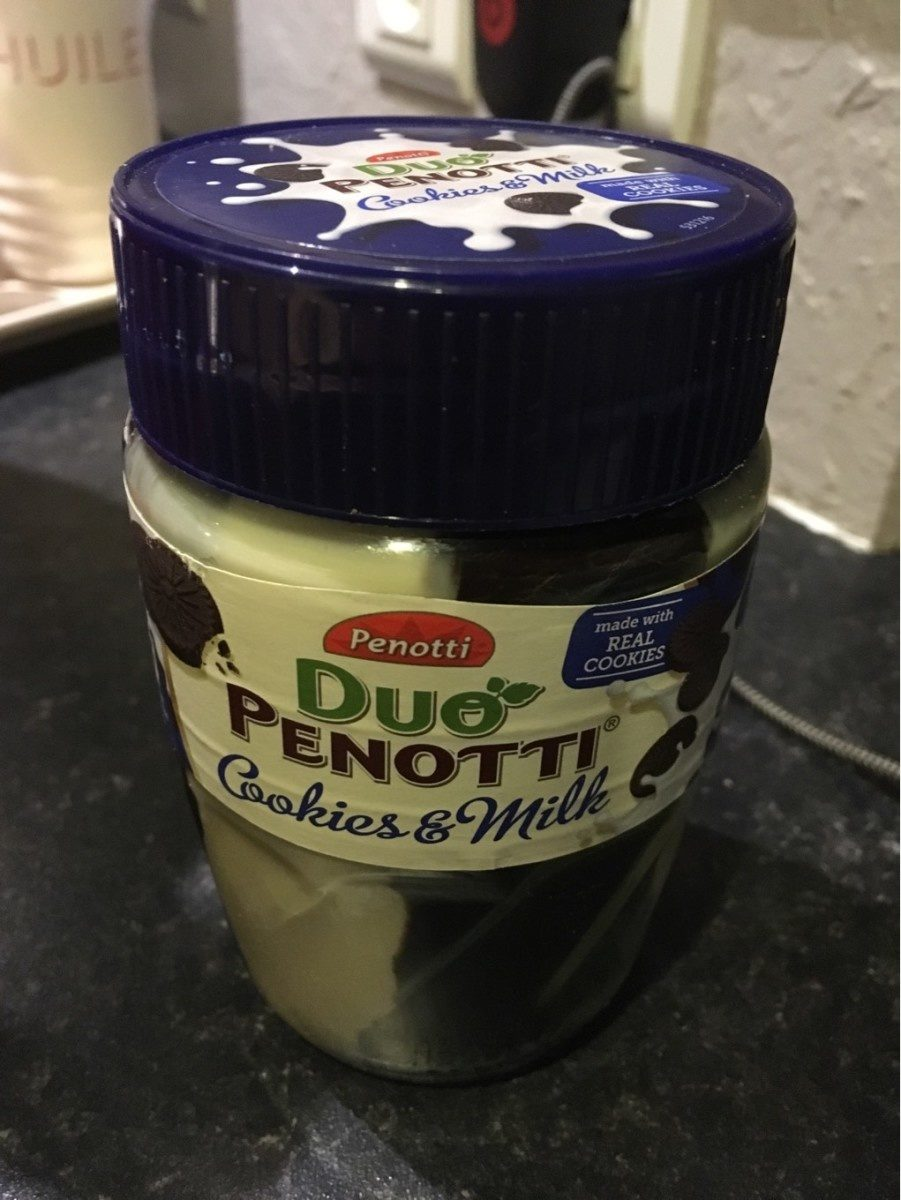 Duo Penotti, Cookies & Milk - Produit - fr