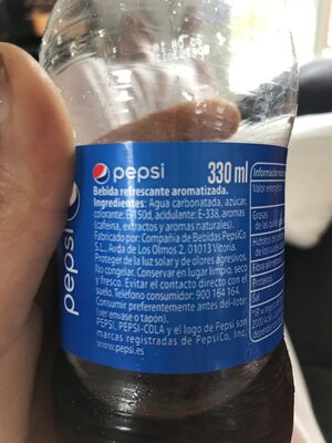PEPSI - Ingredients