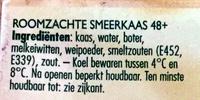 Goudkuipje naturel - Ingredients