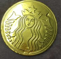Milk Chocolate coin - Product - fr