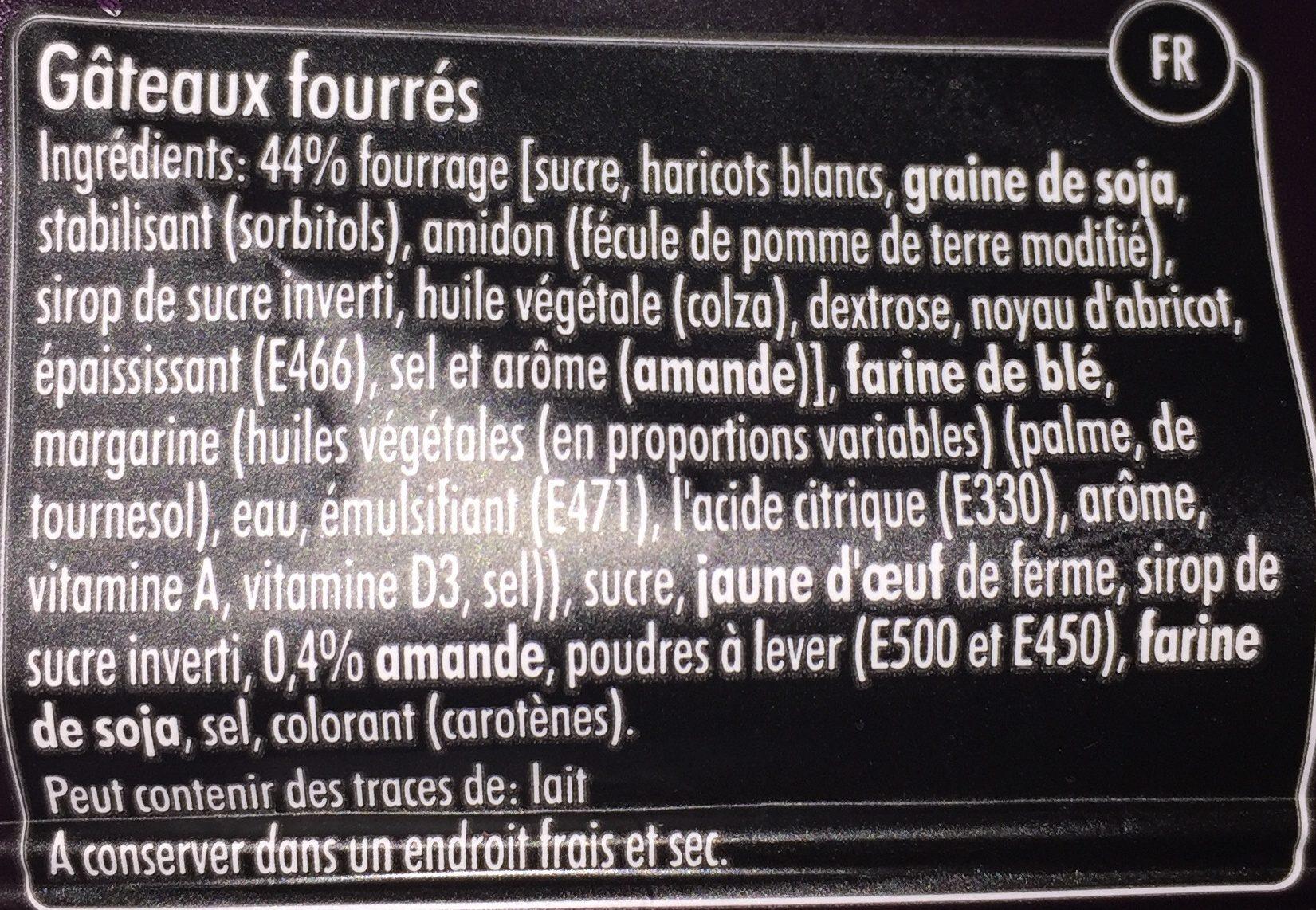 Gevulde Koek (frangipane) - Ingredients