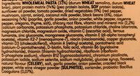 Plenny Pot creamy cajun pasta v1.0 - Ingredients - fr