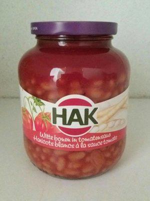 Hak Haricots Blancs a La Sauce Tomate - Produit - fr