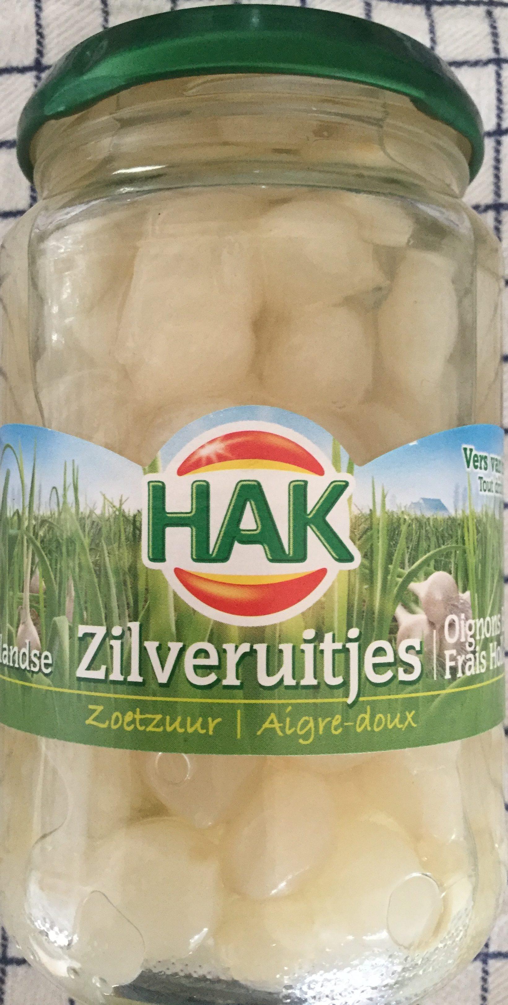 Zilveruitjes zoetzuur - Product - nl