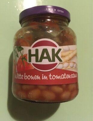 Witte bonen in tomatensaus - Product - nl