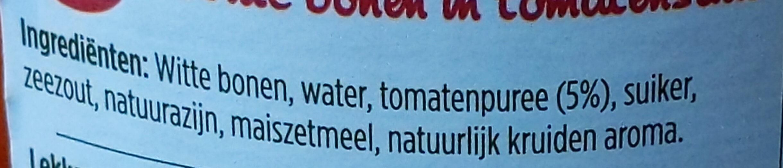 Witte bonen in tomatensaus - Ingredients - nl