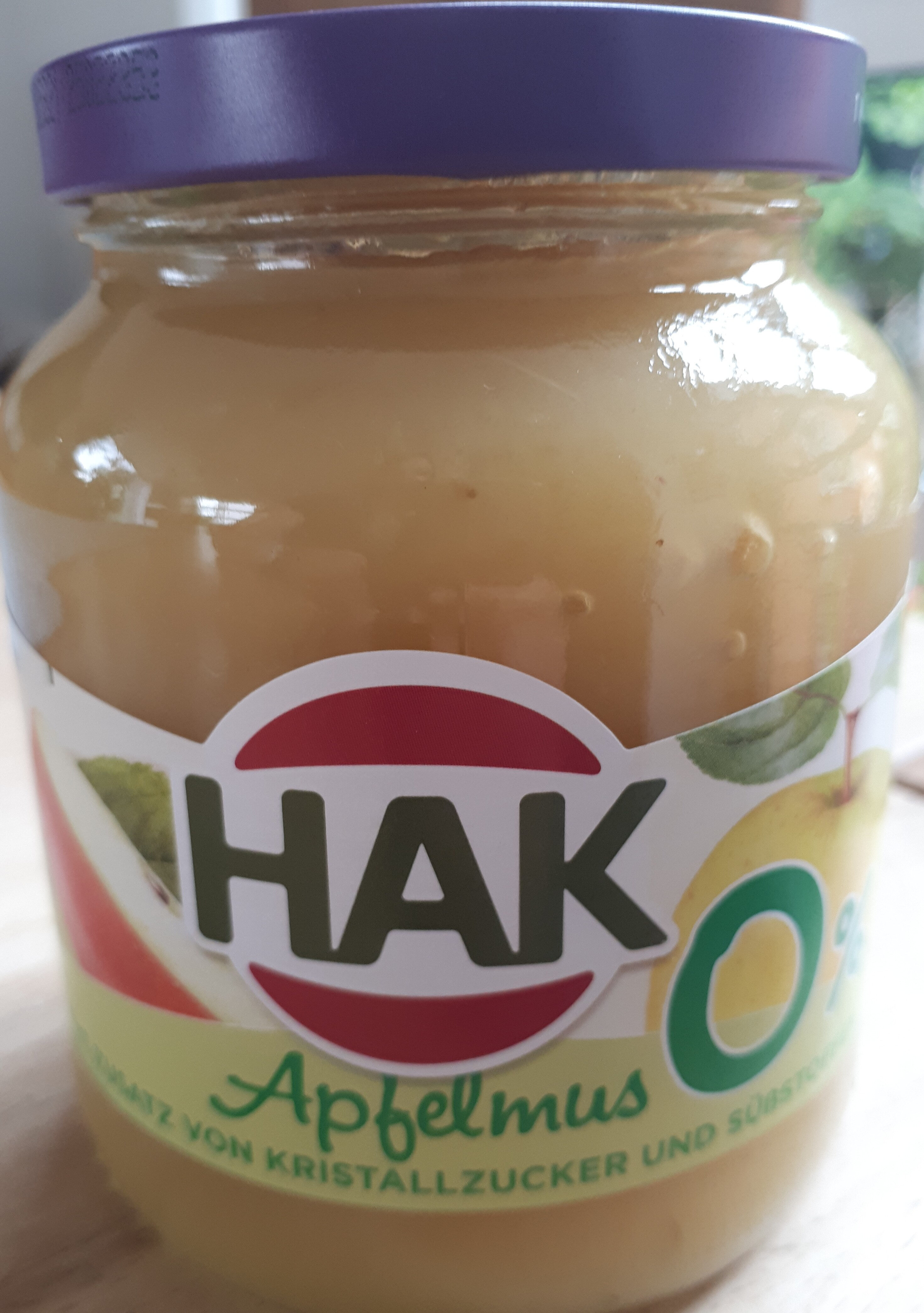Hak Apfelmus - Produkt - de