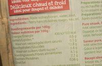Hak Kleine Rode Kidneybonen - Ingrédients
