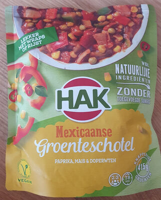 Mexicaanse Groenteschotel - Product - nl