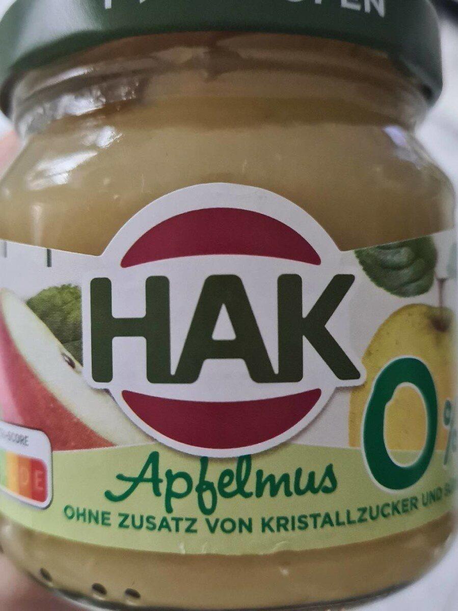 HAK Apfelmus - Prodotto - de