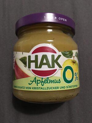 Apfelmus 0% - Product