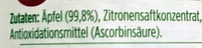 HAK Apfelmus - Ingredienti - de
