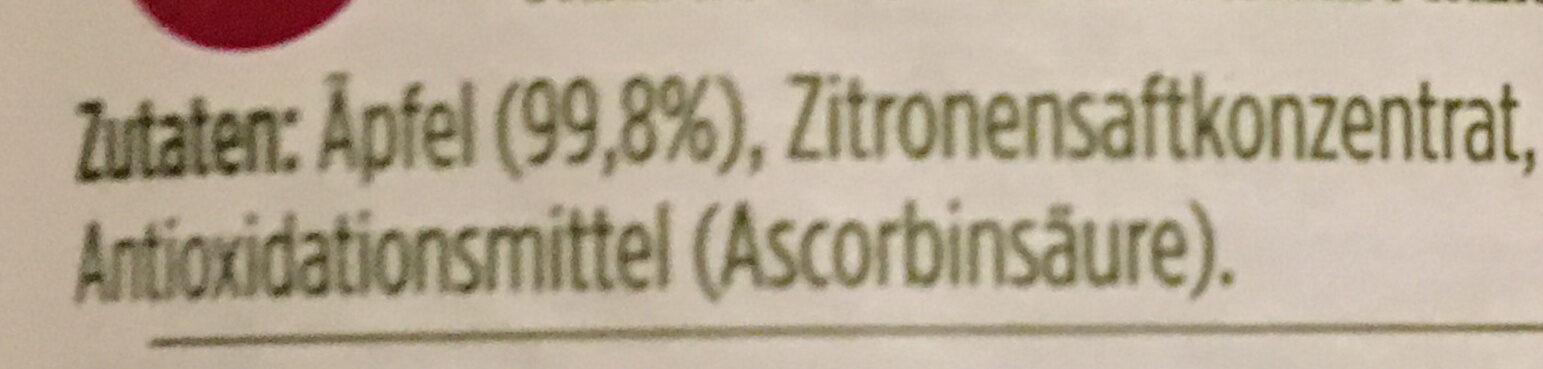 Apfelmus 0% - Ingredients