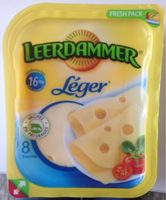 Leerdammer Léger (16% MG) - Producto - fr