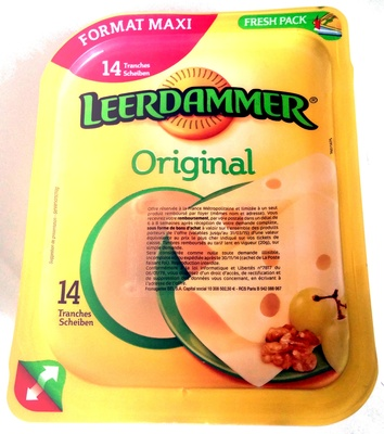 Leerdammer ® Original (27,5% MG) - 14 tranches - 350 g - Product - fr