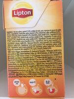 Tea vanilla caramel - Ingredients - en