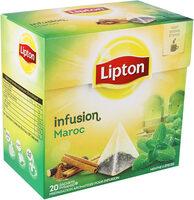 Lipton Infusion Maroc à la Menthe & aux Epices 20 Sachets Pyramides - Product - fr