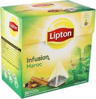 Lipton Tisane Maroc à la Menthe & aux Epices 20 Sachets Pyramides - Product - fr