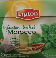 Infusión herbal morocco sin cafeína - Product - fr