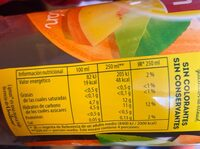 Lipton ice tea melocotob - Informations nutritionnelles - fr