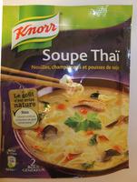 Soupe Thaï, nouilles-champignons & pousses soja - Product