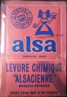 Levure chimique Alsacienne - Product