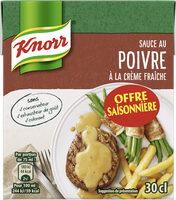 Knorr Sauce Poivre à la Crème Fraîche 30cl Offre Saisonnière - Product - fr