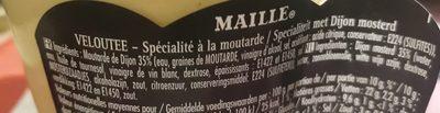 Maille Specialite à la Moutarde Veloute Bocal 360g - Ingrediënten