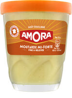 Amora Moutarde Mi-Forte Verre - Prodotto - fr
