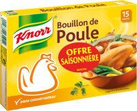 Knorr Bouillon Poule 15 Cubes Offre Saisonnière 150g - Produit