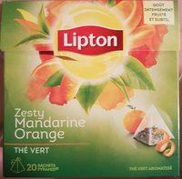 Lipton Thé Vert Mandarine Orange 20 Sachets - Product - fr