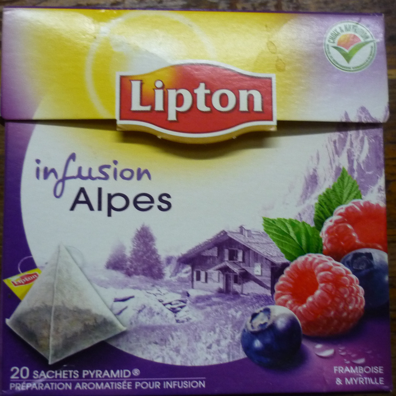 Infusion Alpes - Product - fr