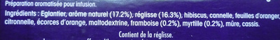 Infusion Alpes - Ingredients - fr