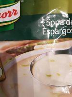 Sopa Knorr Espargos - Producto