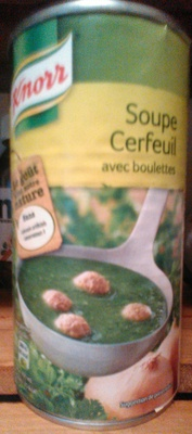Soupe Cerfeuil avec Boulettes - Product