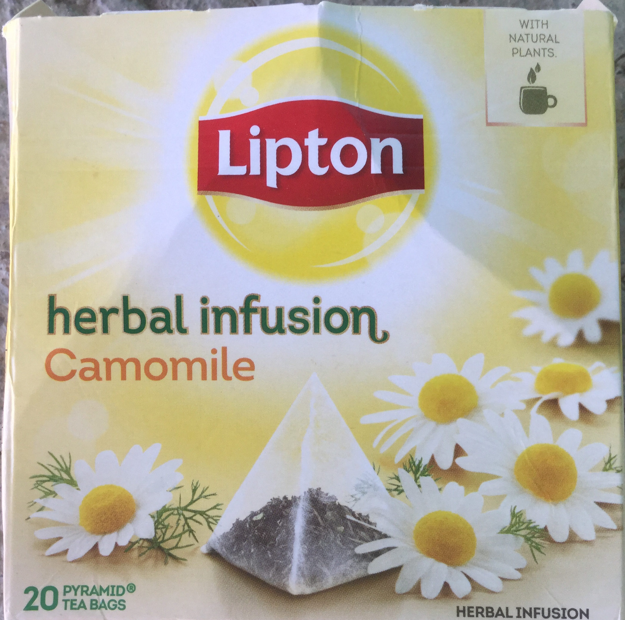 Herbal Infusion Camomile Tea Bags - Product