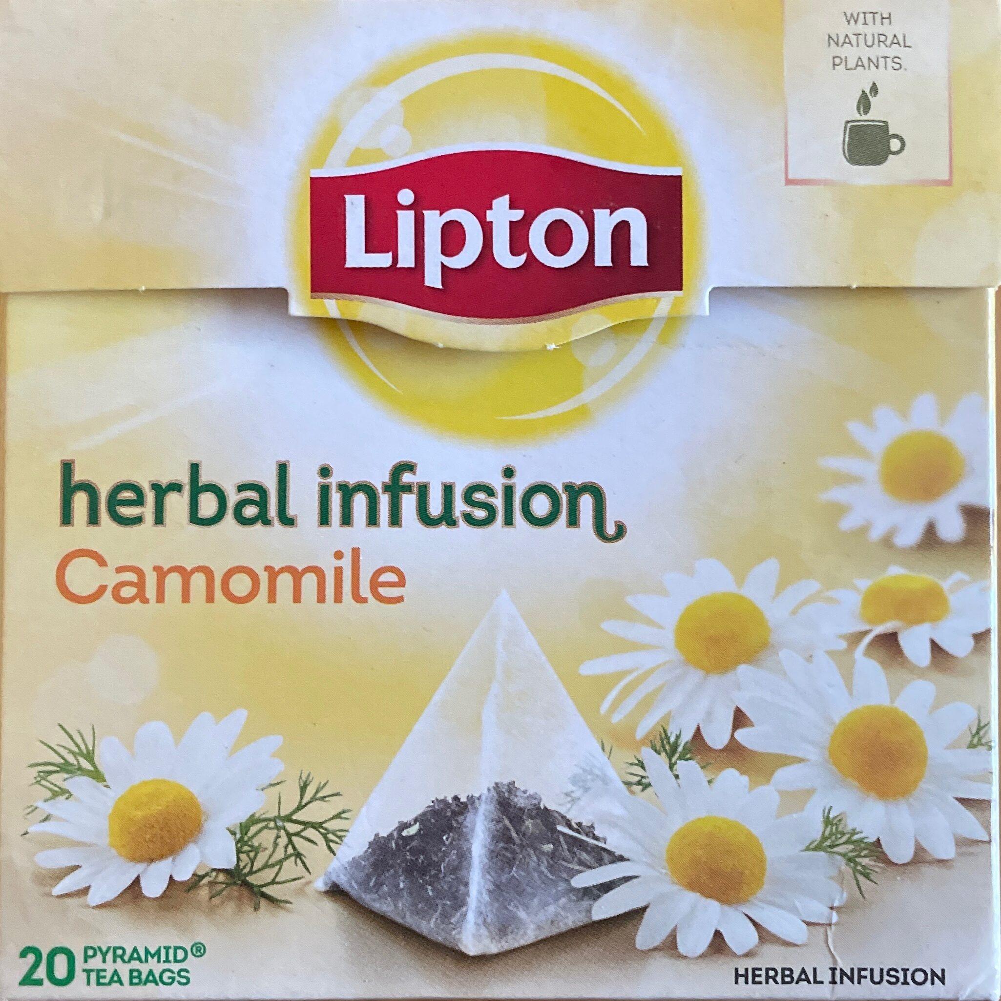 Herbal Infusion Camomile Tea Bags - Produit - fr