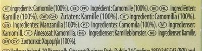 Herbal Infusion Camomile Tea Bags - Ingredientes