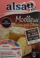 Moelleux au bon goût Citron - Prodotto - fr