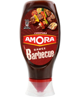 Amora Sauce Barbecue Flacon Souple 490g - Produit - fr
