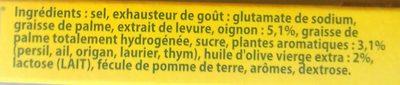 Knorr bou her oliv 15t os - Ingrédients - fr