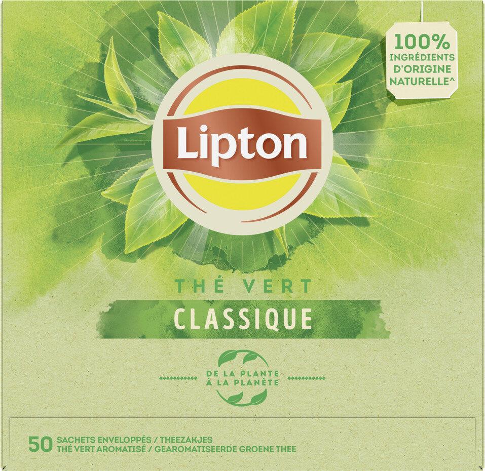 Lipton Thé Vert Classique Goût Léger & Subtil 50 Sachets - Product - fr