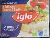 Les Océanes, 2 Grillades Tomate & Basilic - Produkt - fr