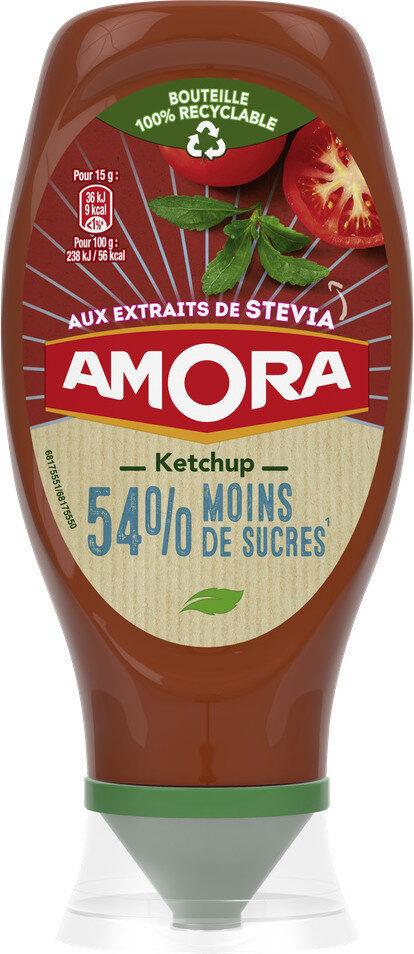 Amora Ketchup Plaisir+ Stevia Flacon Souple - Prodotto - fr